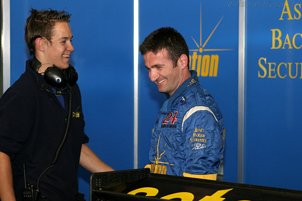 A very happy pole-sitter    - 2006 Le Mans Series Nurburgring 1000 km
