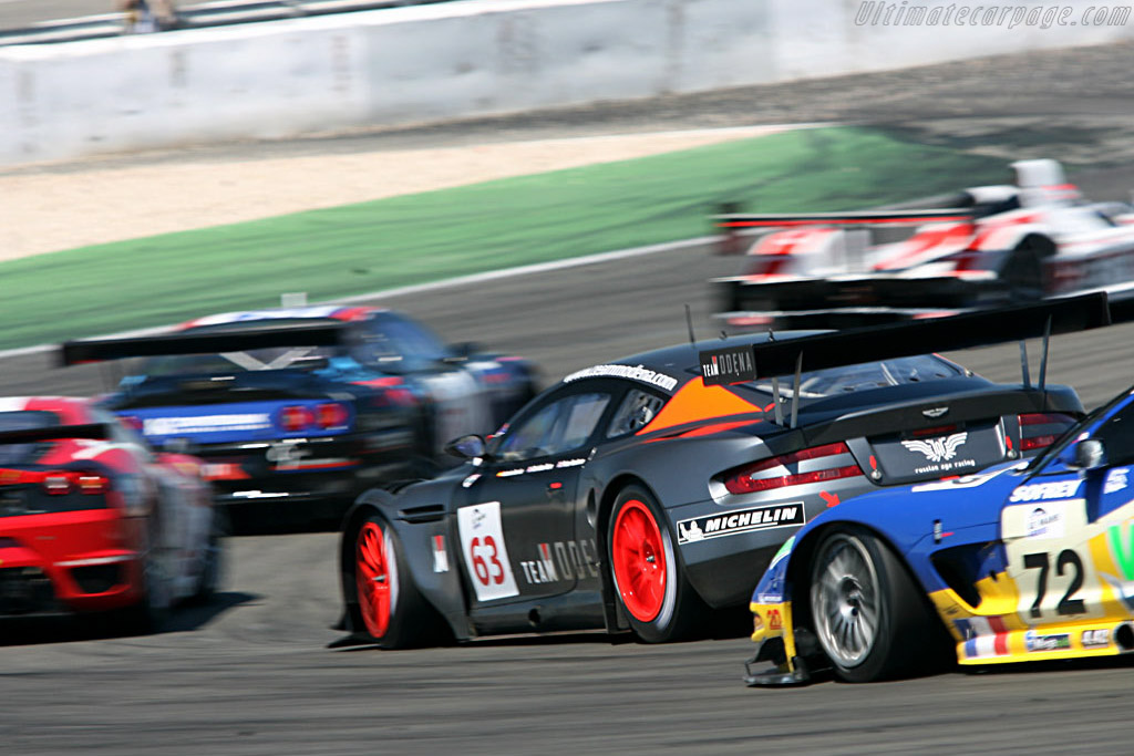 Aston Martin DBR9 - Chassis: DBR9/4 - Entrant: Team Modena  - 2006 Le Mans Series Nurburgring 1000 km