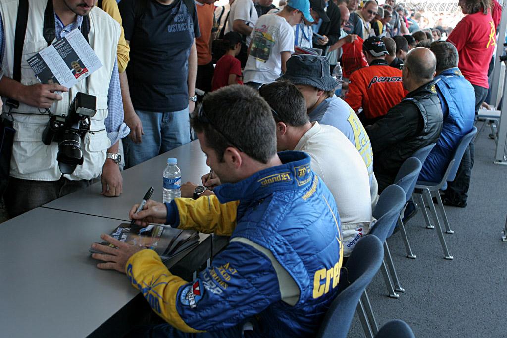 Autograph session    - 2006 Le Mans Series Nurburgring 1000 km