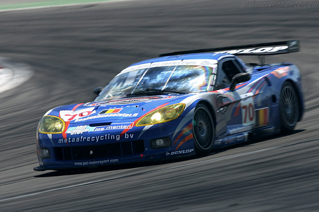 Chevrolet Corvette C6.R - Chassis: 002 - Entrant: PSI Experience  - 2006 Le Mans Series Nurburgring 1000 km