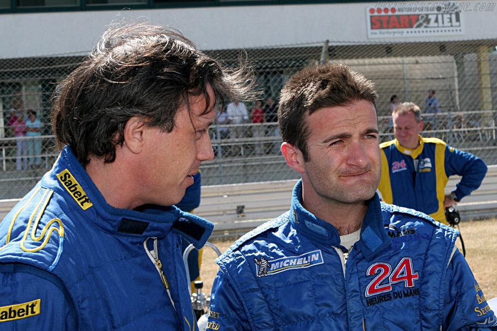 Felipe Ortiz and Quick Nic    - 2006 Le Mans Series Nurburgring 1000 km