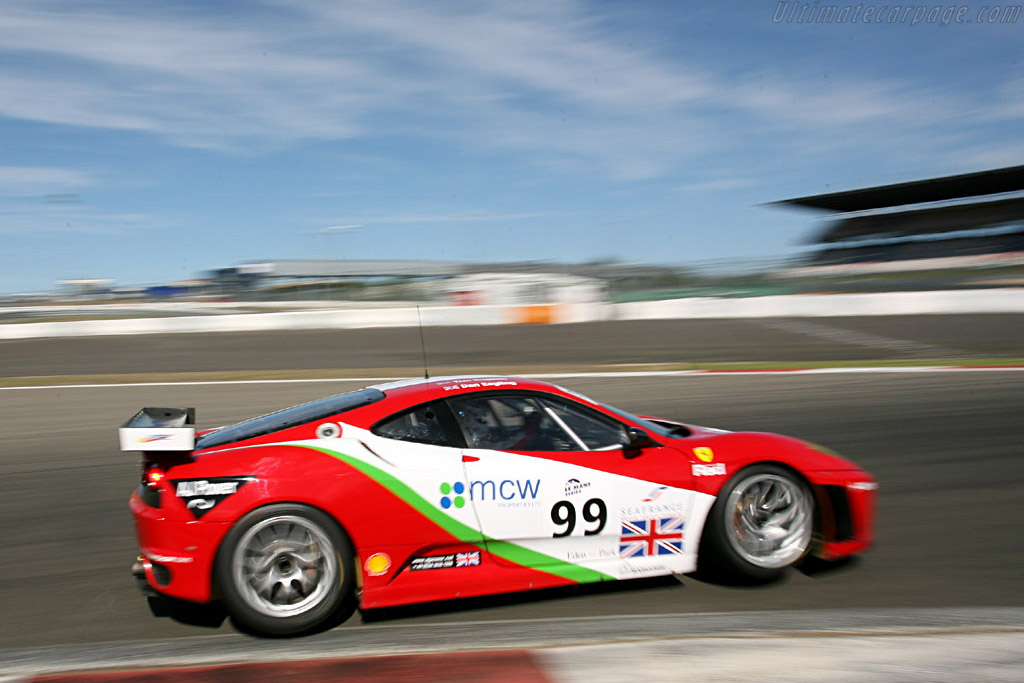 Ferrari F430 GTC - Chassis: 2408 - Entrant: Virgo Motorsport  - 2006 Le Mans Series Nurburgring 1000 km