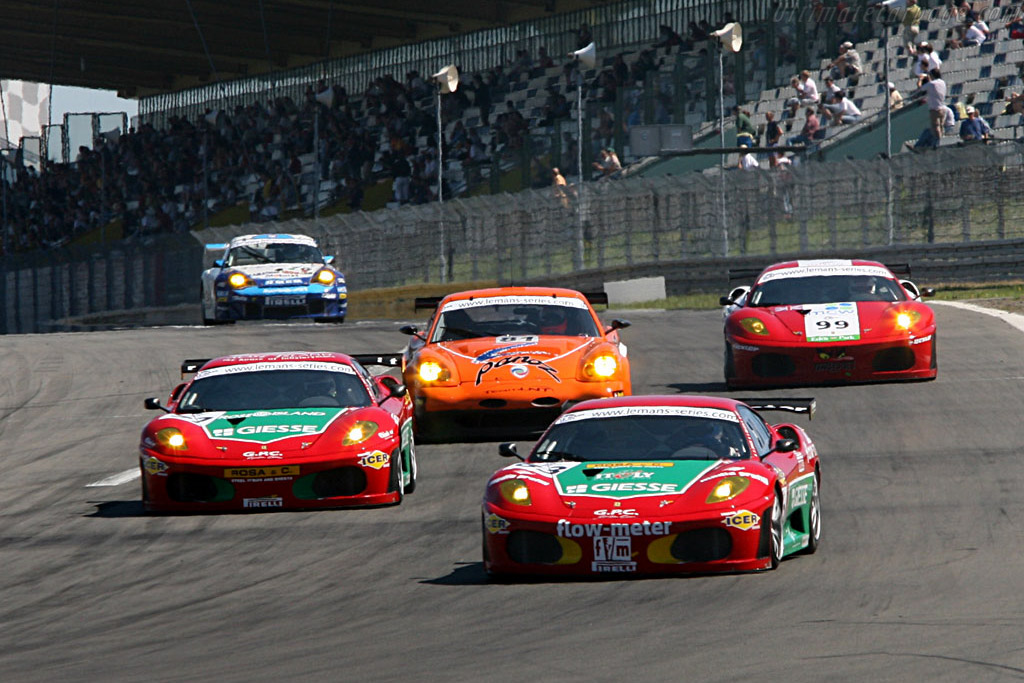 Ferrari fever - Chassis: 2410 - Entrant: GPC Sport  - 2006 Le Mans Series Nurburgring 1000 km