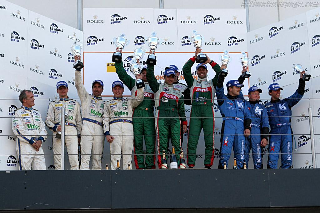 GT1 podium    - 2006 Le Mans Series Nurburgring 1000 km