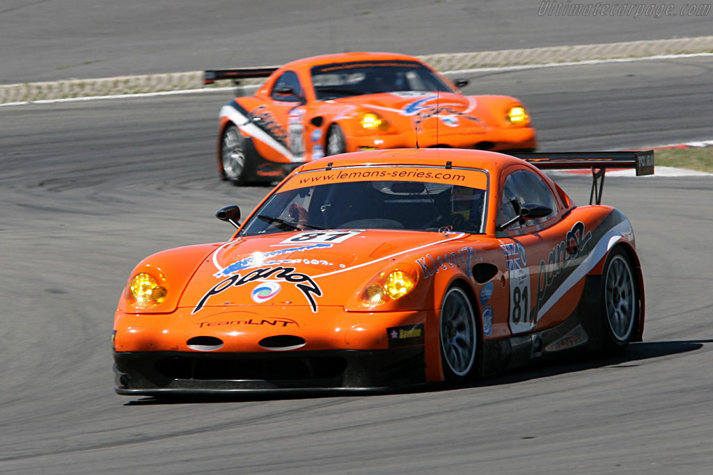 Panoz Esperante GTLM - Chassis: EGTLM 005 - Entrant: Team LNT  - 2006 Le Mans Series Nurburgring 1000 km
