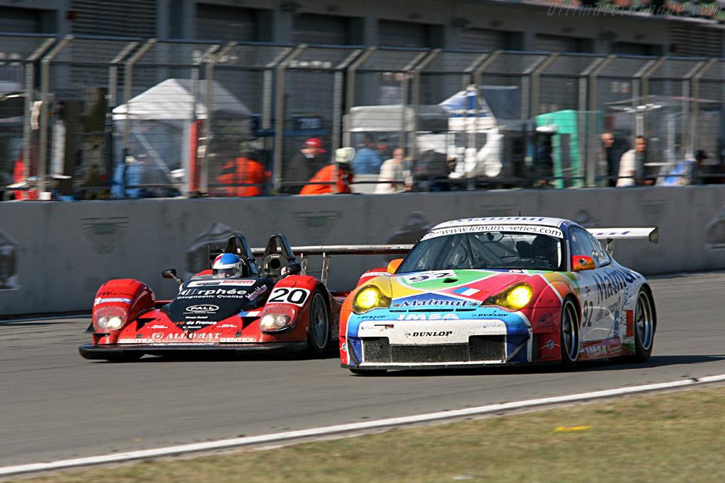 Porsche 996 GT3 RSR - Chassis: WP0ZZZ99Z4S693088 - Entrant: IMSA Performance Matmut  - 2006 Le Mans Series Nurburgring 1000 km