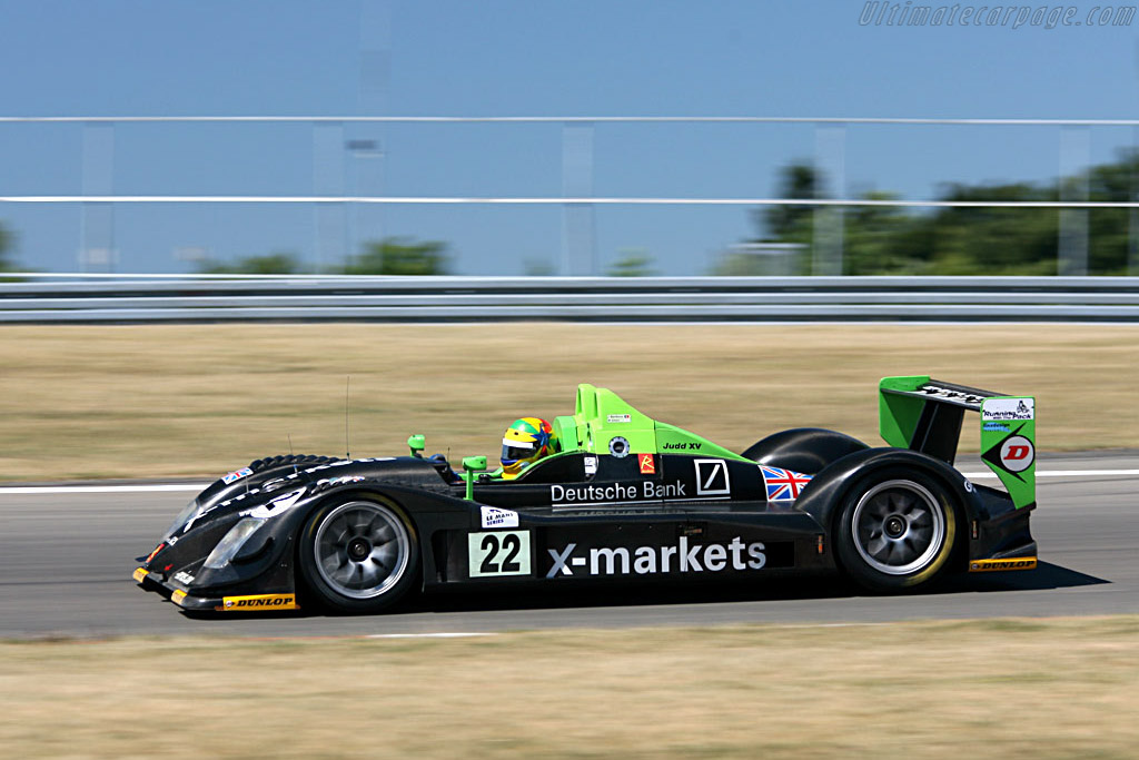Radical SR9 - Chassis: SR9001 - Entrant: Rollcentre Racing  - 2006 Le Mans Series Nurburgring 1000 km