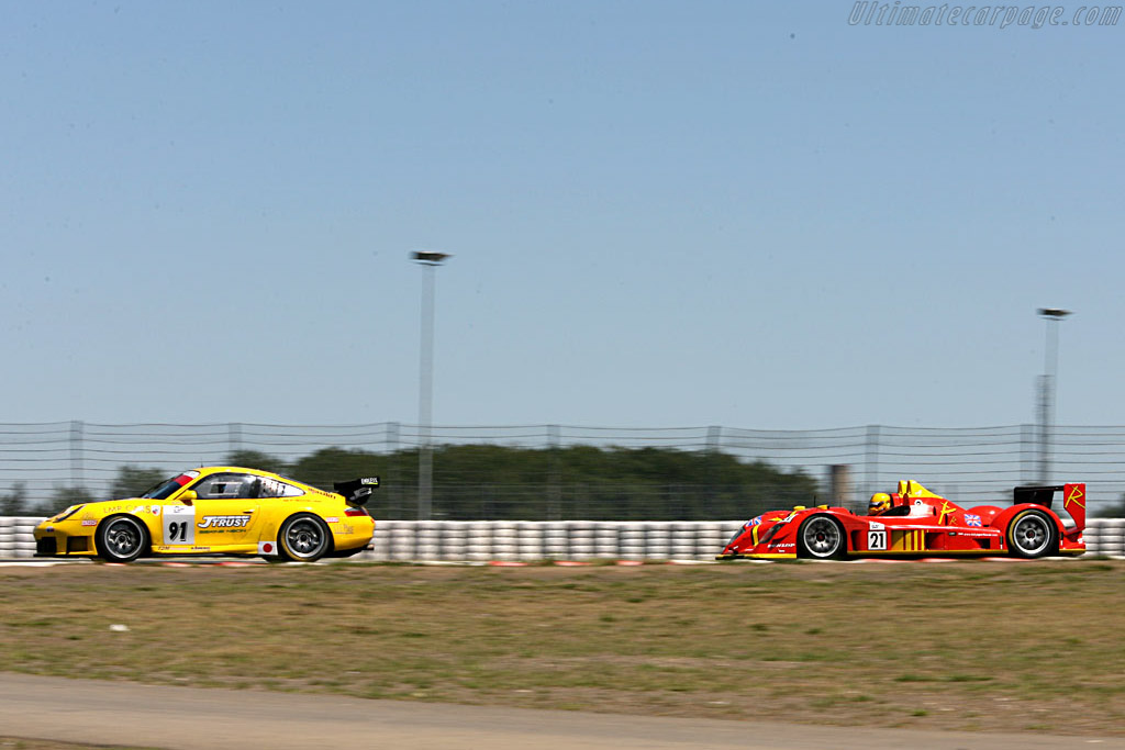 Radical SR9 - Chassis: SR9002 - Entrant: Bruichladdich Radical  - 2006 Le Mans Series Nurburgring 1000 km