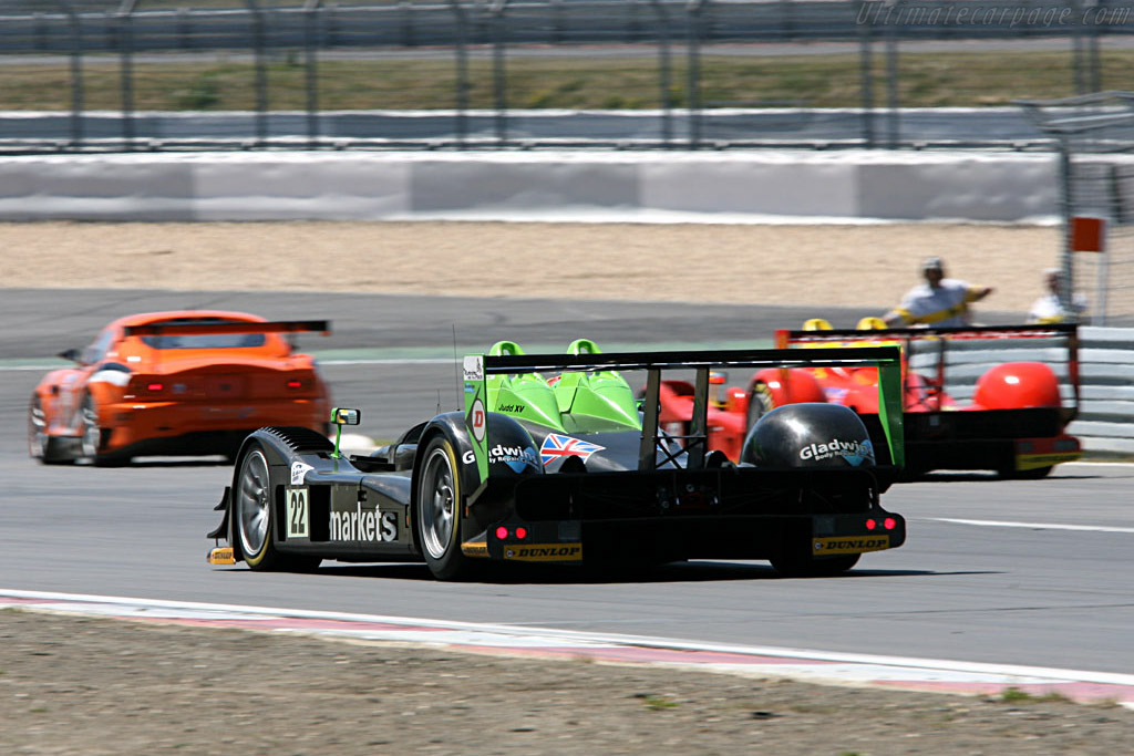 Radical SR9s - Chassis: SR9001 - Entrant: Rollcentre Racing  - 2006 Le Mans Series Nurburgring 1000 km