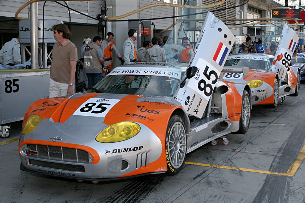 Spyker C8 Spyder GT2-R - Chassis: XL9GB11HX50363097 - Entrant: Spyker Squadron  - 2006 Le Mans Series Nurburgring 1000 km