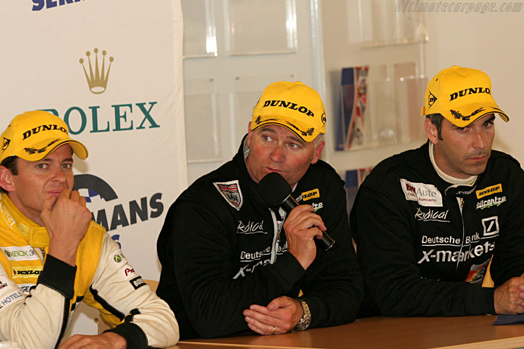There was a lot to talk about between these three    - 2006 Le Mans Series Nurburgring 1000 km