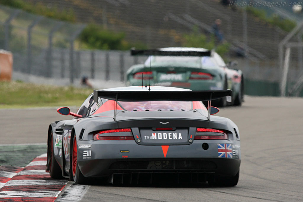 .. the tables were quickly turned. - Chassis: DBR9/101 - Entrant: Team Modena  - 2007 Le Mans Series Nurburgring 1000 km