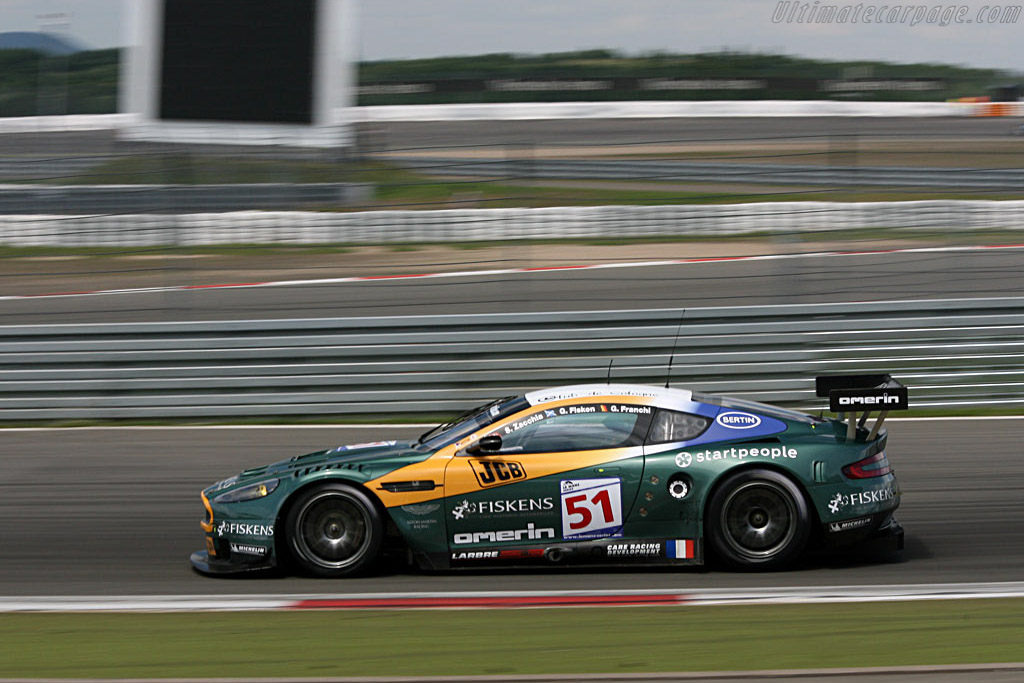 #51 not plagued with troubles for once - Chassis: DBR9/1 - Entrant: AMR Larbre  - 2007 Le Mans Series Nurburgring 1000 km