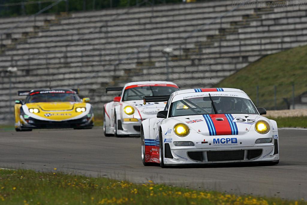 A return for the quasi-Martini Porsche - Chassis: WP0ZZZ99Z7S799932 - Entrant: James Watt Automotive  - 2007 Le Mans Series Nurburgring 1000 km