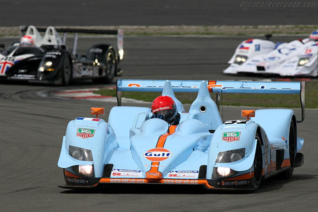 A slow start for the Epsilon Barazi Zytek - Chassis: 07S-01 - Entrant: Barazi Epsilon  - 2007 Le Mans Series Nurburgring 1000 km