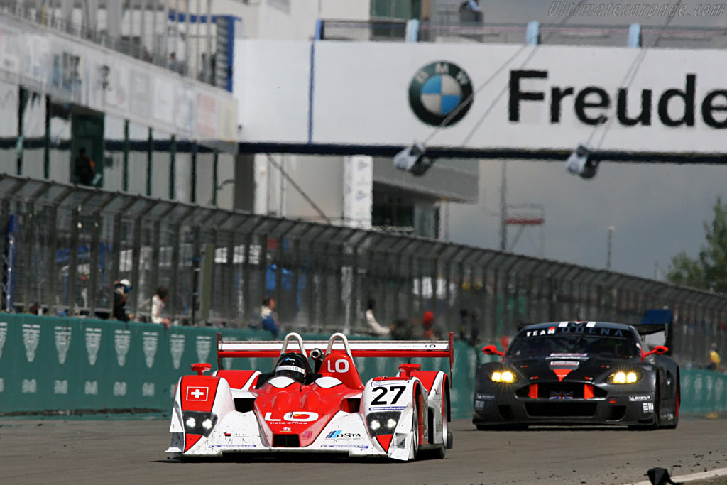 A steady run was not enough for the podium - Chassis: B0540-HU06 - Entrant: Horag Racing - 2007 Le Mans Series Nurburgring 1000 km