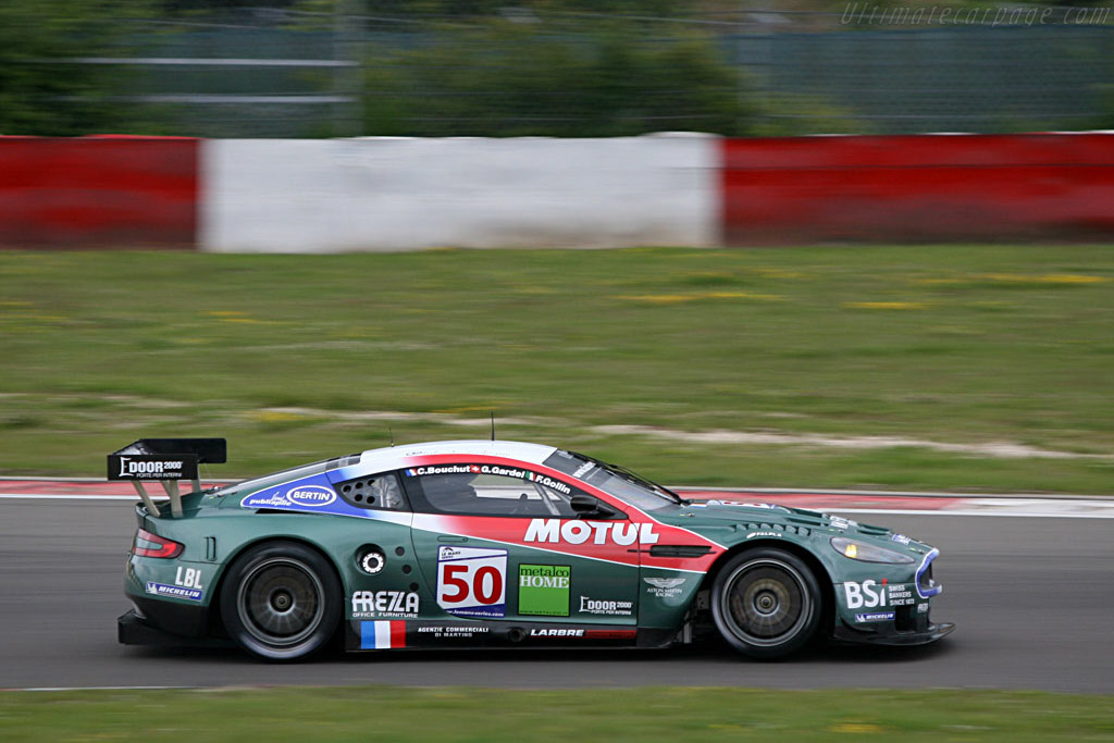 All-Star Aston not impressive - Chassis: DBR9/2 - Entrant: AMR Larbre  - 2007 Le Mans Series Nurburgring 1000 km
