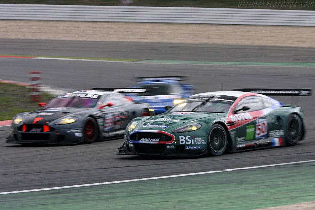 Aston scruff - Chassis: DBR9/2 - Entrant: AMR Larbre  - 2007 Le Mans Series Nurburgring 1000 km