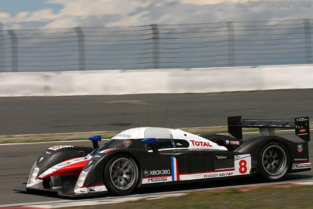 Back-to-back win for #8 - Chassis: 908-03 - Entrant: Team Peugeot Total  - 2007 Le Mans Series Nurburgring 1000 km