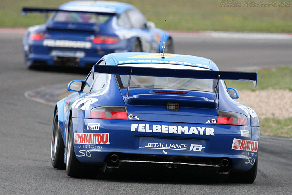 Body doubles - Chassis: WP0ZZZ99Z4S693085 - Entrant: Team Felbermayr-Proton  - 2007 Le Mans Series Nurburgring 1000 km