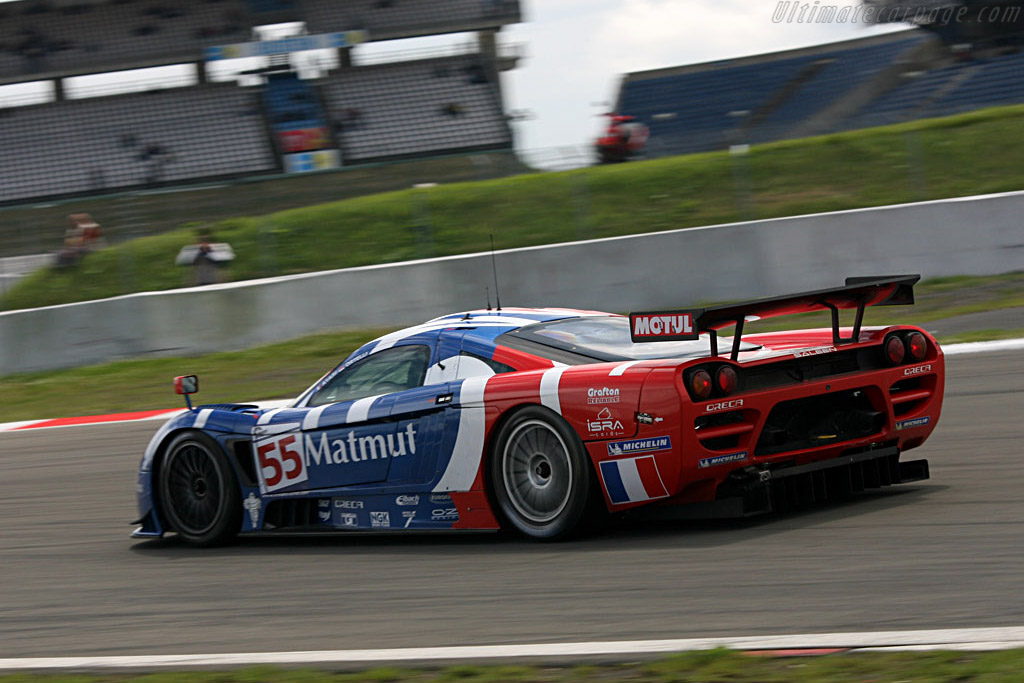 2007 Saleen S7 >> Charging through the Mercedes Arena - Chassis: 066R - Entrant: Team Oreca - 2007 Le Mans Series ...