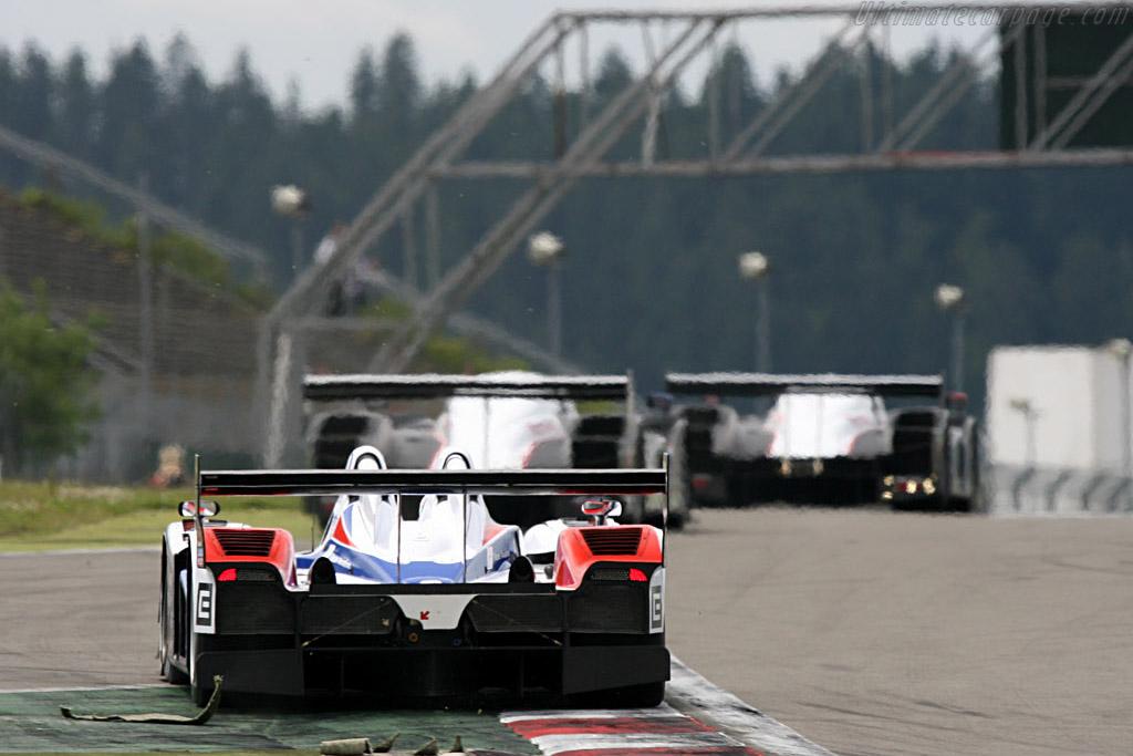 Charouz biting diesel dust - Chassis: B0610-HU03 - Entrant: Charouz Racing System  - 2007 Le Mans Series Nurburgring 1000 km