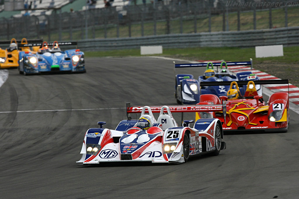 Erdos made the most of his LMP2 pole - Chassis: B0540-HU05 - Entrant: RML  - 2007 Le Mans Series Nurburgring 1000 km