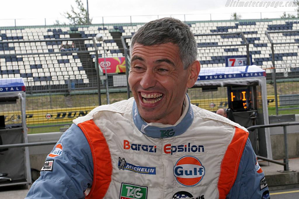 Fortunately Karim Ojjeh can still smile    - 2007 Le Mans Series Nurburgring 1000 km
