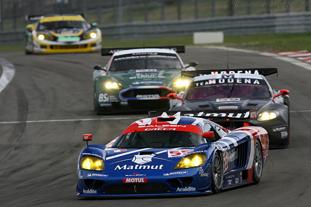 Four cars for three GT1 podium places - Chassis: 066R - Entrant: Team Oreca  - 2007 Le Mans Series Nurburgring 1000 km