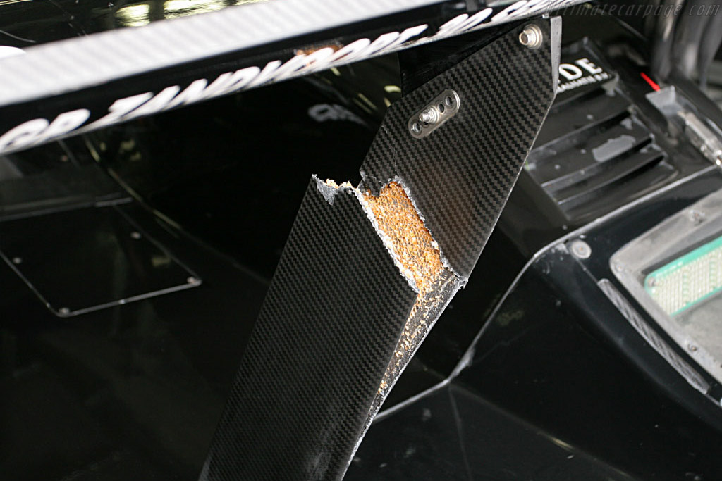 Honeycomb uncovered    - 2007 Le Mans Series Nurburgring 1000 km