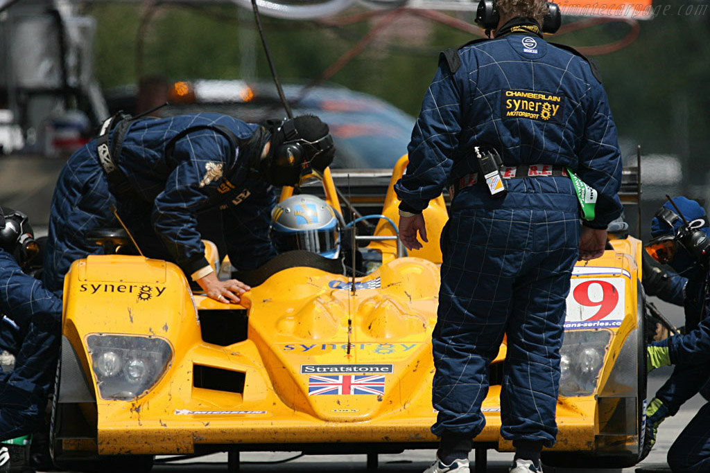 Hugh Chamberlain inspects his troops - Chassis: B0610-HU07 - Entrant: Chamberlain Synergy  - 2007 Le Mans Series Nurburgring 1000 km