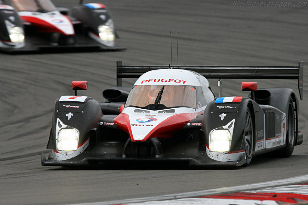 In a (diesel) league of their own - Chassis: 908-02 - Entrant: Team Peugeot Total  - 2007 Le Mans Series Nurburgring 1000 km
