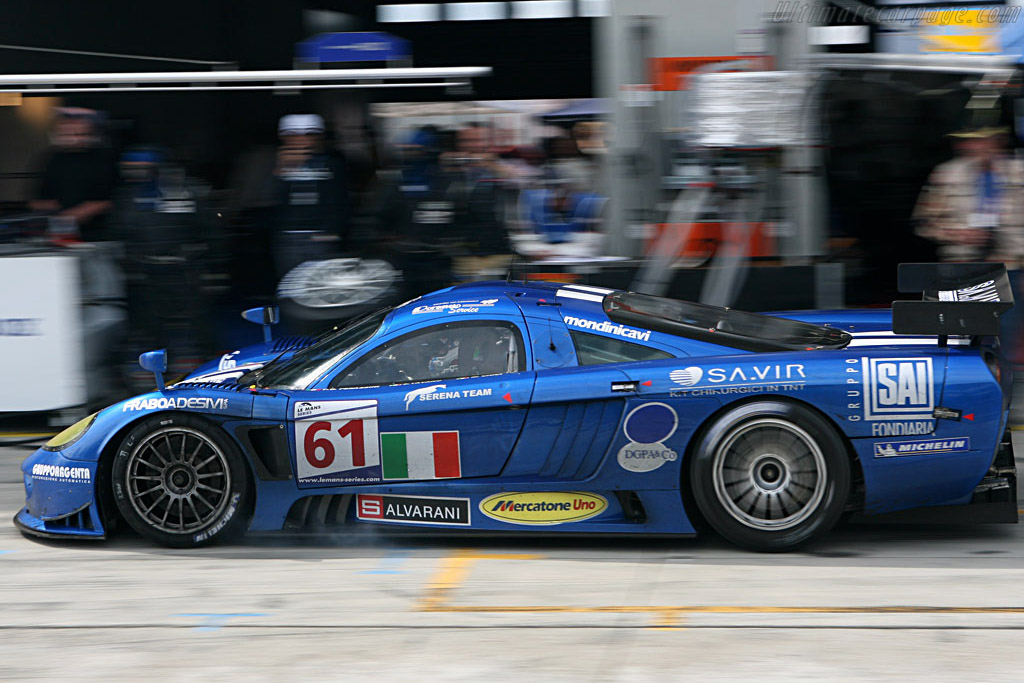 Incoming!! - Chassis: 080R - Entrant: Racing Box  - 2007 Le Mans Series Nurburgring 1000 km