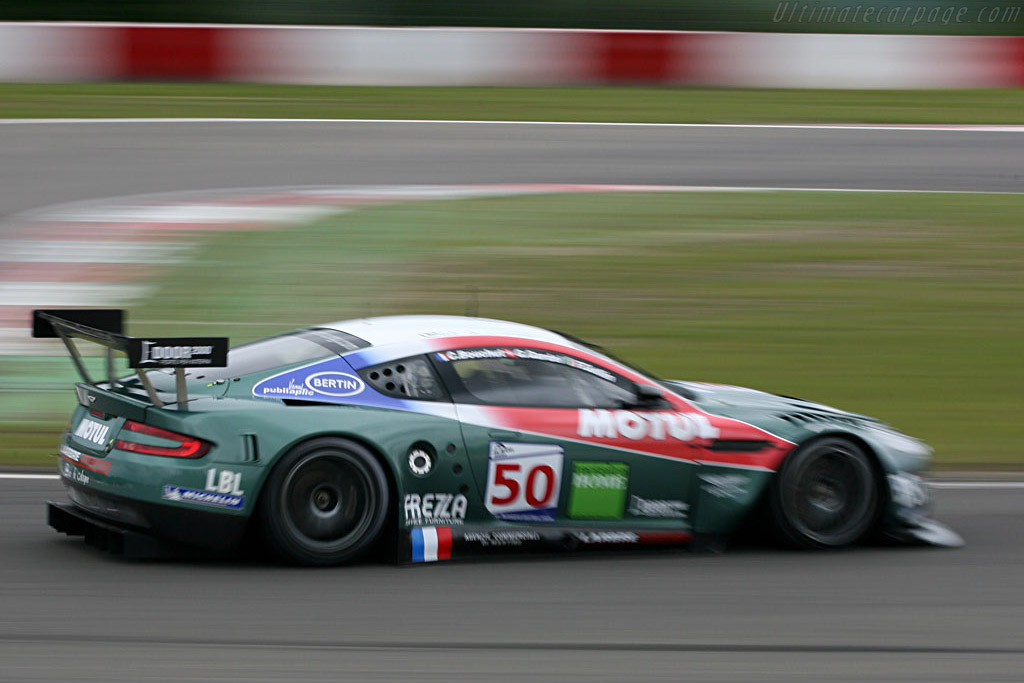 It looks faster than it was - Chassis: DBR9/2 - Entrant: AMR Larbre  - 2007 Le Mans Series Nurburgring 1000 km