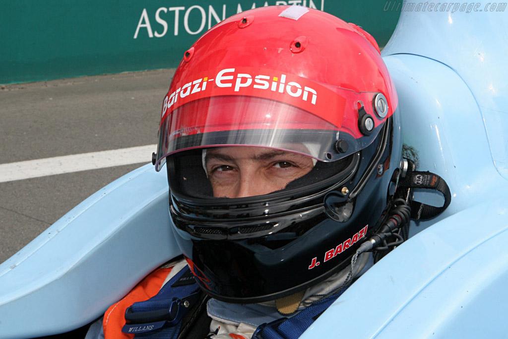 Juan Barazi in his Zytek - Chassis: 07S-01 - Entrant: Barazi Epsilon  - 2007 Le Mans Series Nurburgring 1000 km