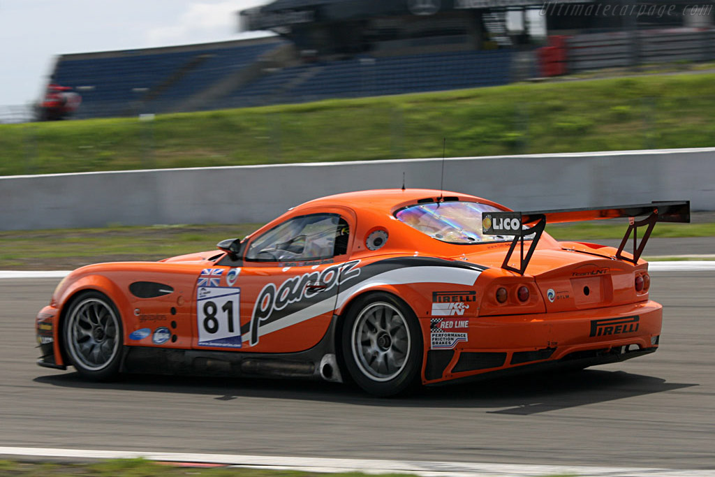 LNT have long lost their 2006 Le Mans winning form - Chassis: EGTLM 005 - Entrant: Team LNT  - 2007 Le Mans Series Nurburgring 1000 km