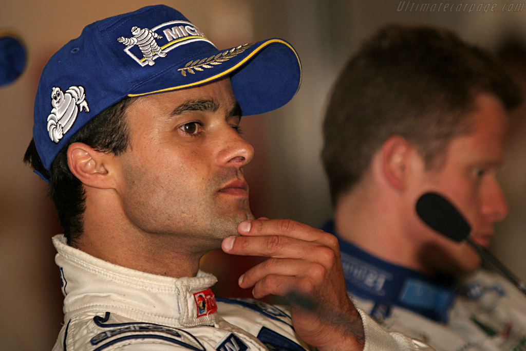 Lamy contemplating his win    - 2007 Le Mans Series Nurburgring 1000 km