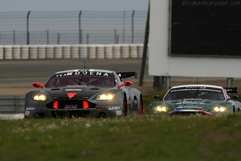 Larbre chasing Modena .. - Chassis: DBR9/101 - Entrant: Team Modena  - 2007 Le Mans Series Nurburgring 1000 km