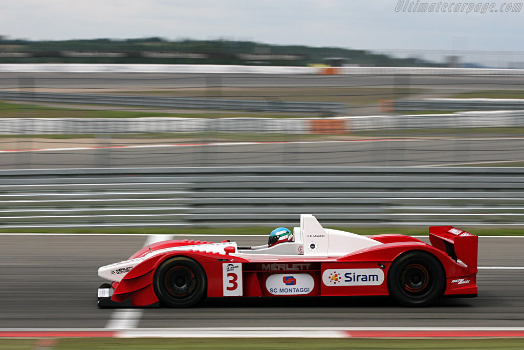 Lavaggi looking much better (pace-wise) - Chassis: 1 - Entrant: Lavaggi Sport  - 2007 Le Mans Series Nurburgring 1000 km
