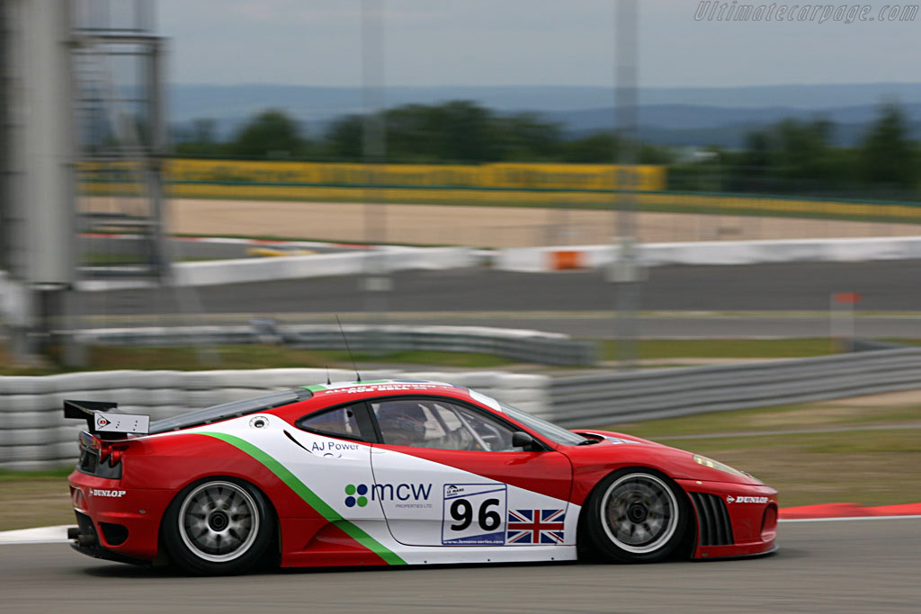 On top of the world - Chassis: 2408 - Entrant: Virgo Motorsport  - 2007 Le Mans Series Nurburgring 1000 km