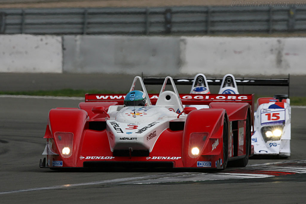 One of his 29 laps - Chassis: 1 - Entrant: Lavaggi Sport  - 2007 Le Mans Series Nurburgring 1000 km