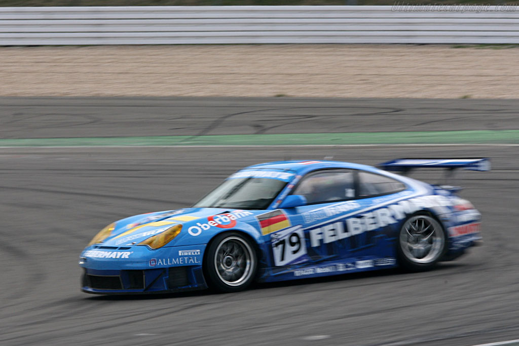 One of many spins for the 996 - Chassis: WP0ZZZ99Z4S693085 - Entrant: Team Felbermayr-Proton  - 2007 Le Mans Series Nurburgring 1000 km