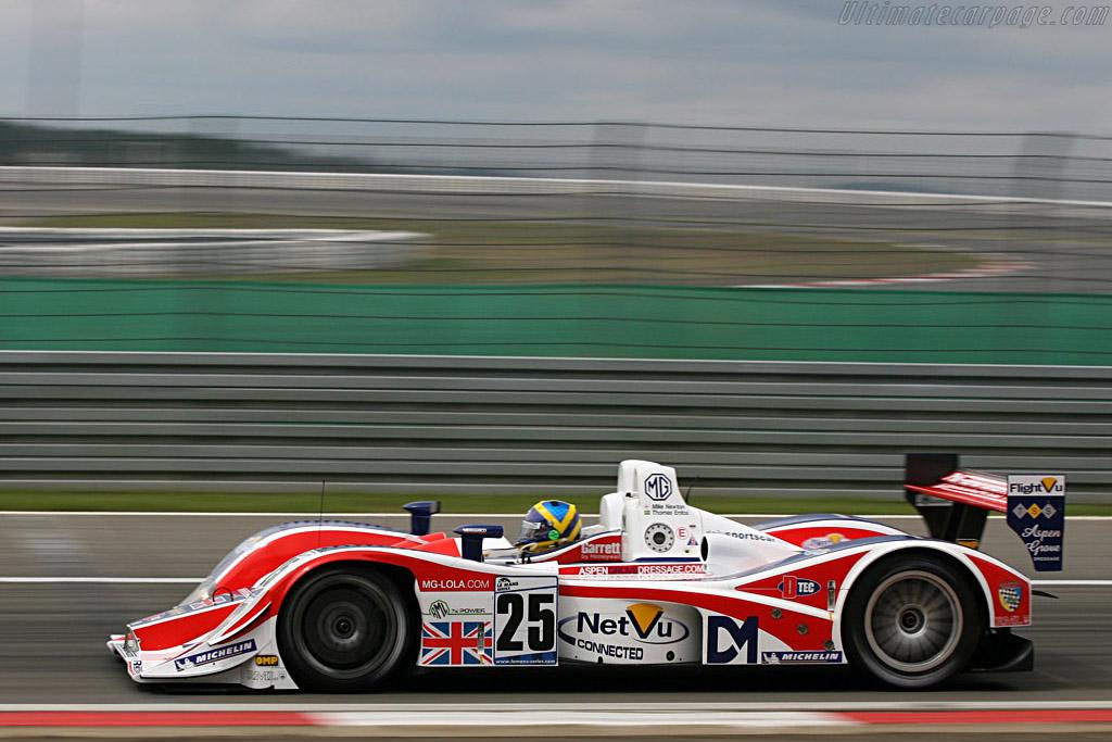 Pole-man Erdos - Chassis: B0540-HU05 - Entrant: RML  - 2007 Le Mans Series Nurburgring 1000 km
