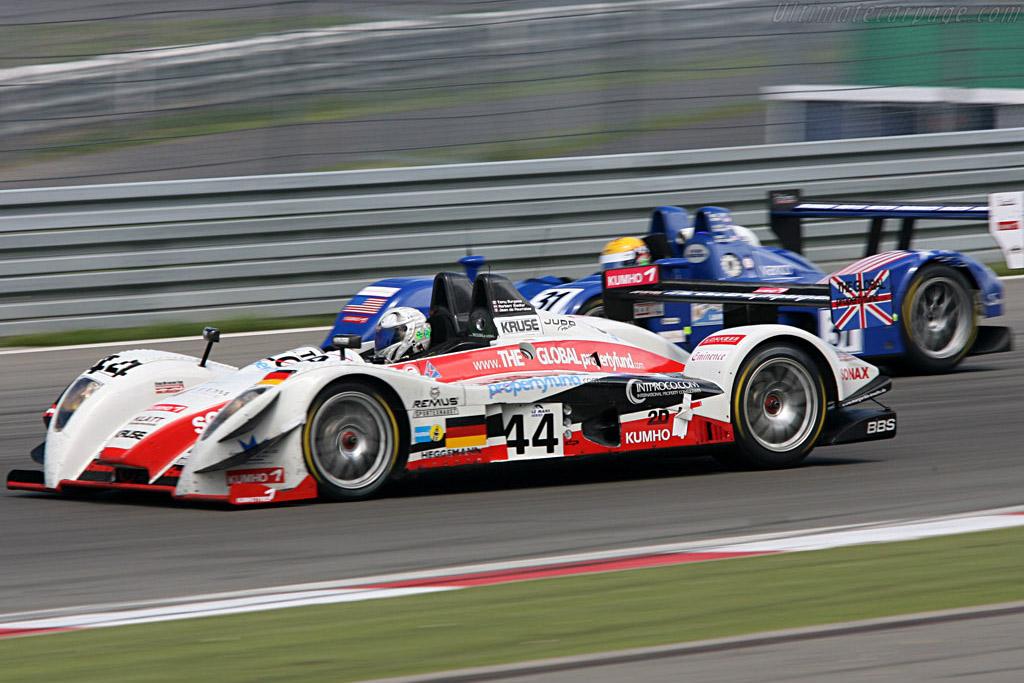 Side by side - Chassis: 01-02 - Entrant: Kruse Motorsport  - 2007 Le Mans Series Nurburgring 1000 km