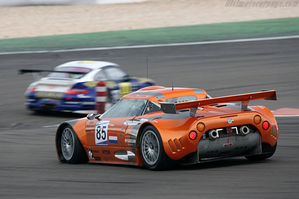 Spyker rumbling on - Chassis: XL9GB11H150363098 - Entrant: Spyker Squadron  - 2007 Le Mans Series Nurburgring 1000 km