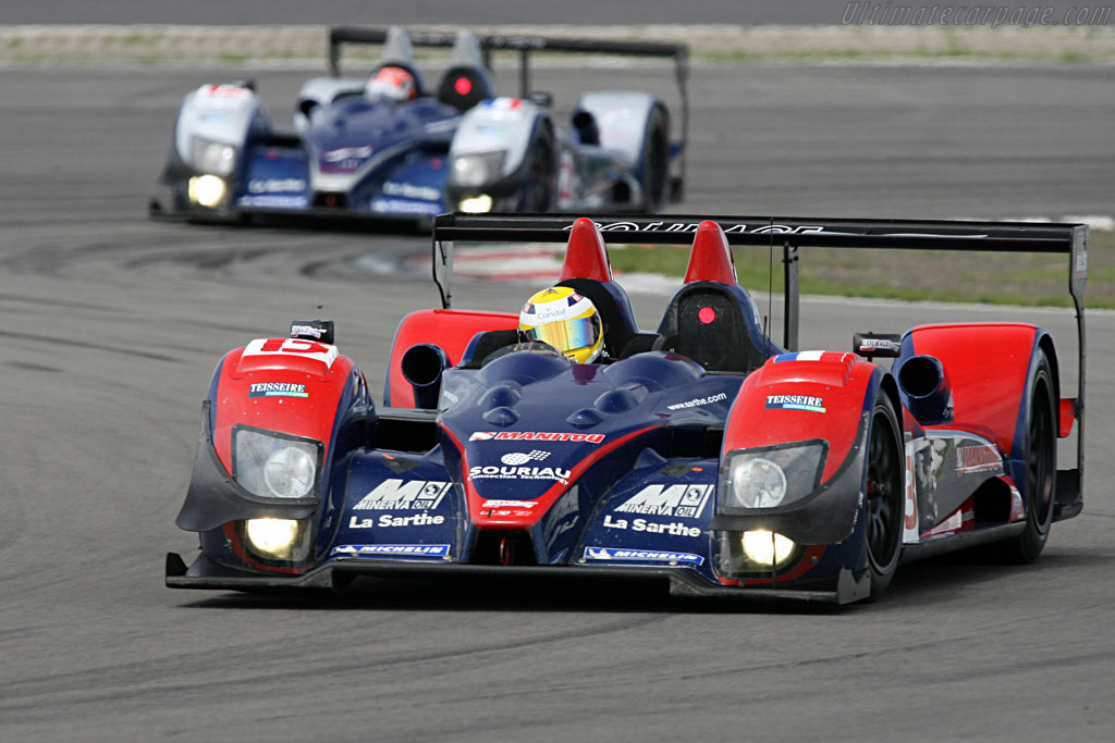 The Courages are finally reliable - Chassis: LC70-4 - Entrant: Courage Competition  - 2007 Le Mans Series Nurburgring 1000 km