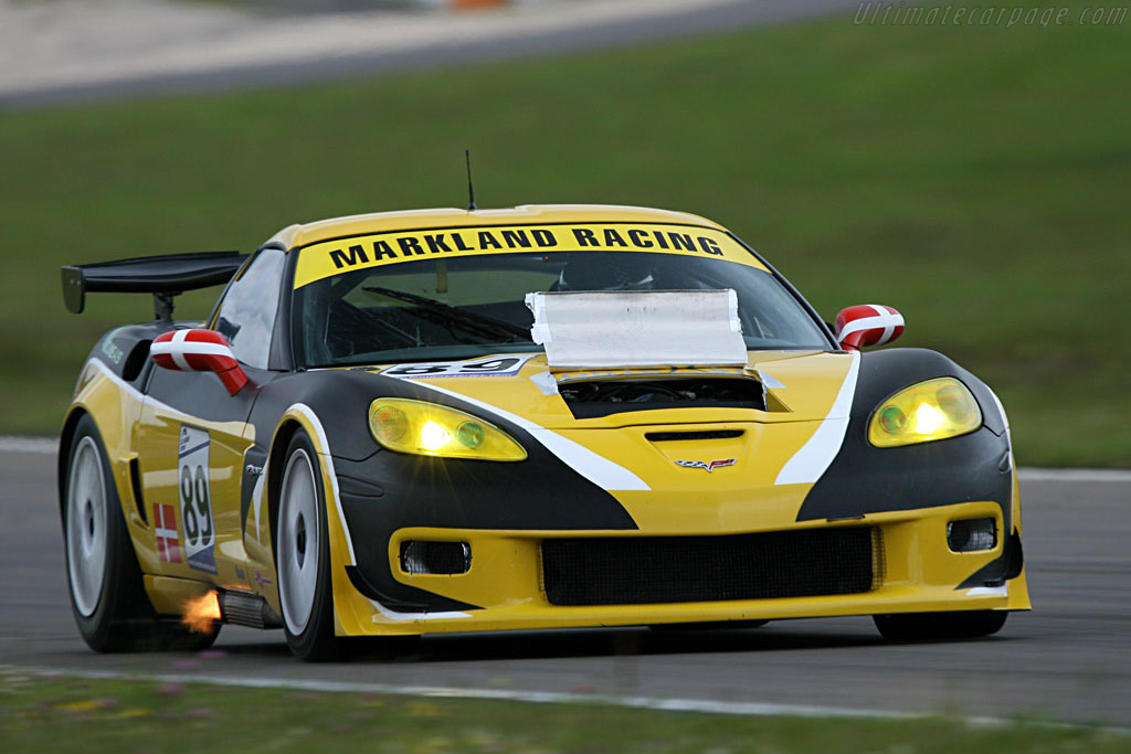 The GT2 'Vette: a spectacular addition - Chassis: 1G1YY26E265114144 - Entrant: Markland Racing  - 2007 Le Mans Series Nurburgring 1000 km