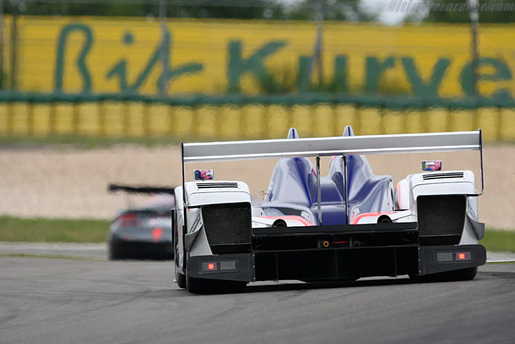 The Zytek was very quick again - Chassis: 07S-02 - Entrant: Arena Motorsport  - 2007 Le Mans Series Nurburgring 1000 km