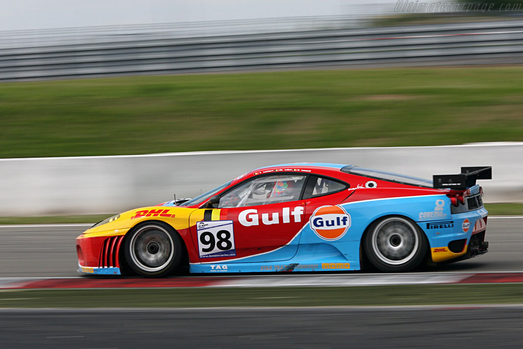 The evocative colours again - Chassis: 2452 - Entrant: Ice Pol Racing Team  - 2007 Le Mans Series Nurburgring 1000 km