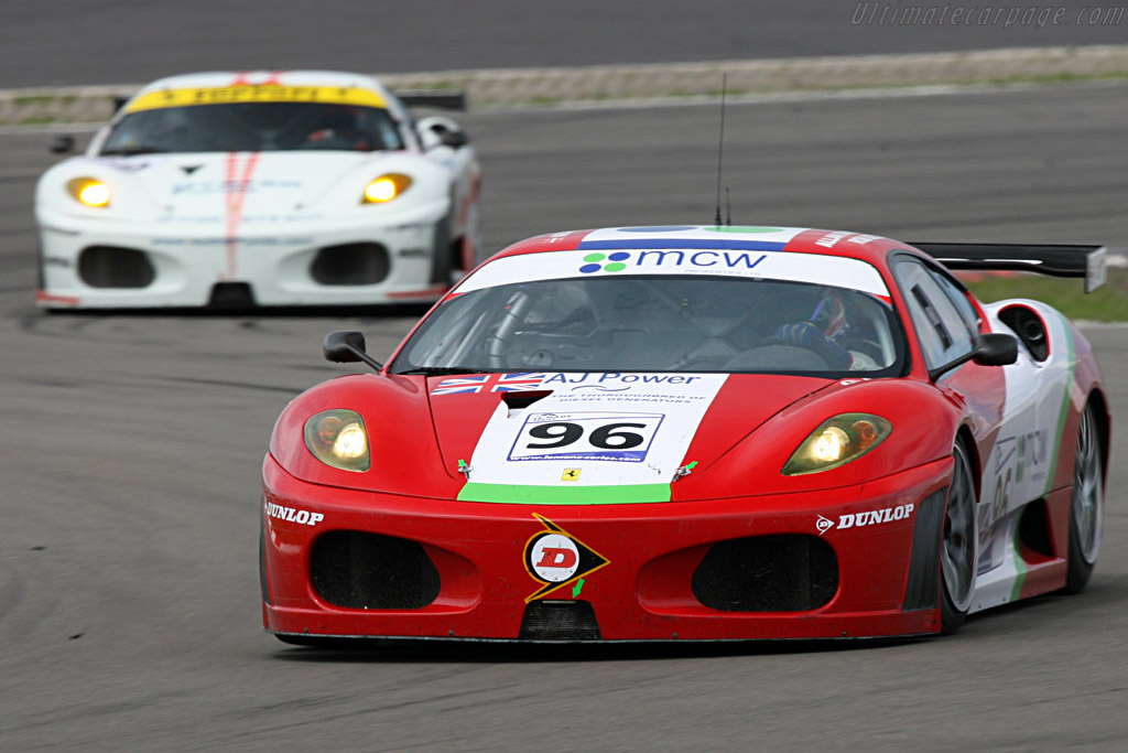 The fastest and the slowest F430 - Chassis: 2408 - Entrant: Virgo Motorsport  - 2007 Le Mans Series Nurburgring 1000 km